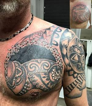 Maori Tattoo und cover up